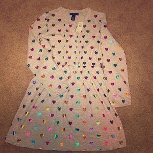 Gap Rainbow Hearts Dress